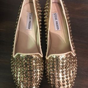 Steve Madden Gold shoe size 7 1/2